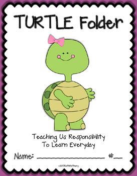 TURTLE Folder {Student Organization Folder}