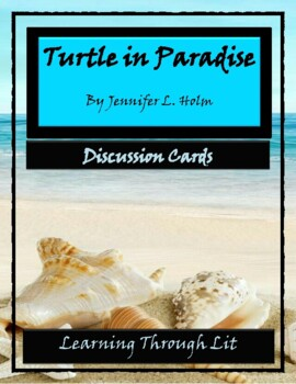 TURTLE IN PARADISE by Jennifer L. Holm - Discussion Cards