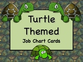 TURTLE Job Chart Cards/Signs - Great for Classroom Management! ADORABLE!
