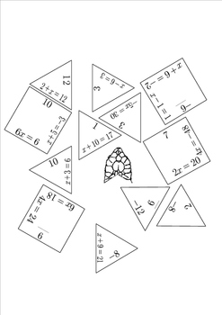 TURTLE PUZZLE EQUATION