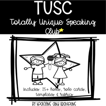 Speaking and Presenting in the Classroom - TUSC Unit