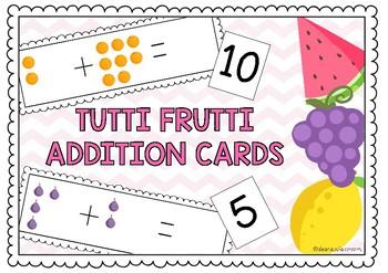 TUTTI FRUTTI ADDITION CARDS