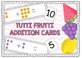 TUTTI FRUTTI ADDITION CARDS