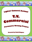 TV Commercial - Persuasive Writing