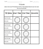 TV Guide: Elapsed Time Activity