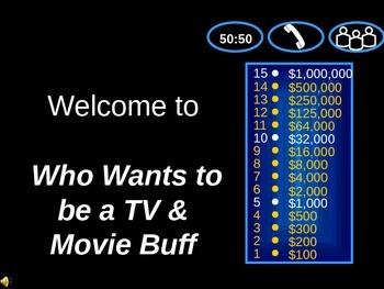 TV & Movies Millionaire Game III