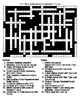 TV Police Shows Crossword and Word Search puzzles
