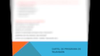 TV Poster activity (Spanish II)