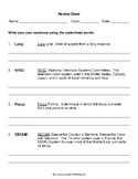 TV Productions  Film  Communications worksheets