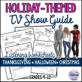 TV Show Guide THANKSGIVING AND HALLOWEEN (October) UPDATED