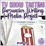 TV Show Tasting: Media Literacy and Persuasive Writing Pro