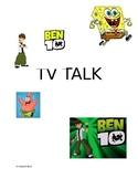 TV Talk Social Story