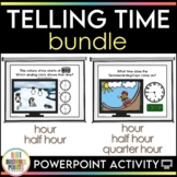 TV Time - Telling Time {BUNDLE}