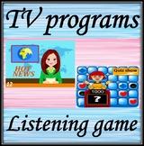 TV programmes.