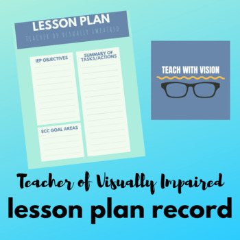 TVI Lesson Plan Template