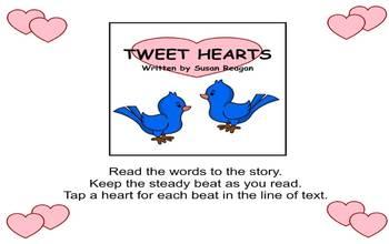 TWEET HEARTS - Valentine's Day Rhythm Activity