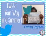 TWEET your Way into Summer! A Summer Craftivity
