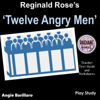 TWELVE ANGRY MEN - REGINALD ROSE - WORKSHEETS
