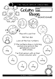 TWELVE DAYS OF CHRISTMAS - FIVE GOLDEN RINGS GAME -