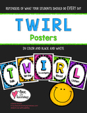 TWIRL Classroom Posters