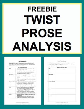 TWIST Prose Analysis