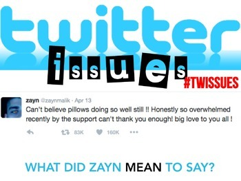 TWITTER ISSUES BUNDLE - Correct the Grammar of Celebrities! Bell Ringer