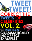 TWITTER ISSUES VOL.2. Correct the Spelling & Grammar of Celebrities! Bell Ringer