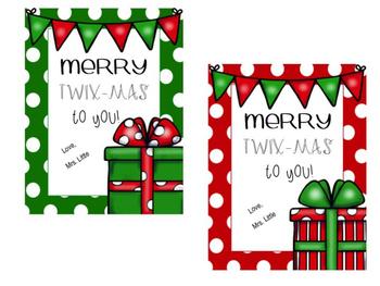 TWIX Editable Candy Tags