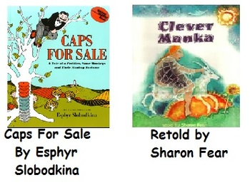 TWO BOOKS, Caps For Sale       Cleaver Manka