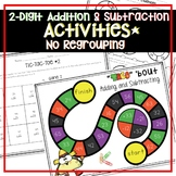 TWO-DIGIT ADDITION AND SUBTRACTION ACTIVITIES AND WORKSHEETS