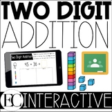 TWO DIGIT ADDITION: Interactive Slides | DISTANCE LEARNING
