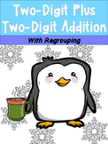 DOUBLE DIGIT ADDITION with regrouping *Winter