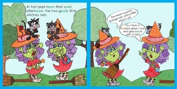 TWO FUNNY EBOOKS + ACTIVITIES FOR THE FALL SEASON AND HALLOWEEN SEASON!