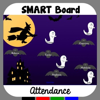Halloween SMART Board Attendance