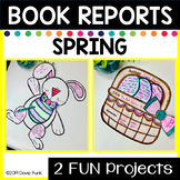 Easter Story Elements Book Report - TWO Activities for Spring