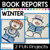 TWO Winter Story Elements Book Report Activities for January