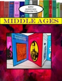World History: Middle Ages - Mini Accordion Book Project
