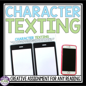 TEXTING READING ASSIGNMENT FOR ANY STORY