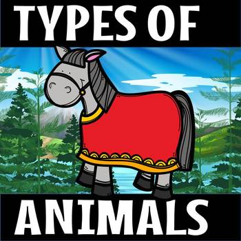 TYPES OF ANIMALS(50% off for 48 hours)