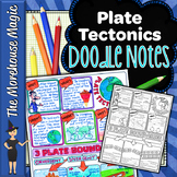 Plate Tectonics Doodle Notes | Science Doodle Notes