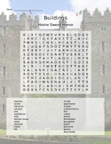 TYPES OF HOMES WORD SEARCH