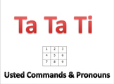 Ta Ta Ti (Ustedes Commands & Pronouns)
