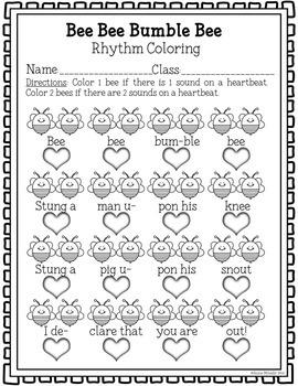 Ta & Ti-Ti Coloring MEGAPACK (rhythmic preparation & practice)