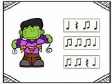 Ta, Ti Ti Halloween Frankenstein