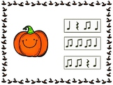 Ta, Ti Ti Halloween Pumpkins