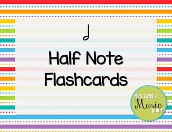 Half Note Flashcards