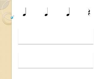 Ta, Ti-Ti & (rest) Music Assessment w/ Rublic for Rhythm Reading