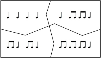 Ta and Ti-Ti Rhythm Puzzle Game