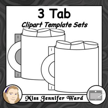 Tab Book Clipart : GROWING BUNDLE