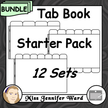 Tab Book Clipart Sets : Starter Pack